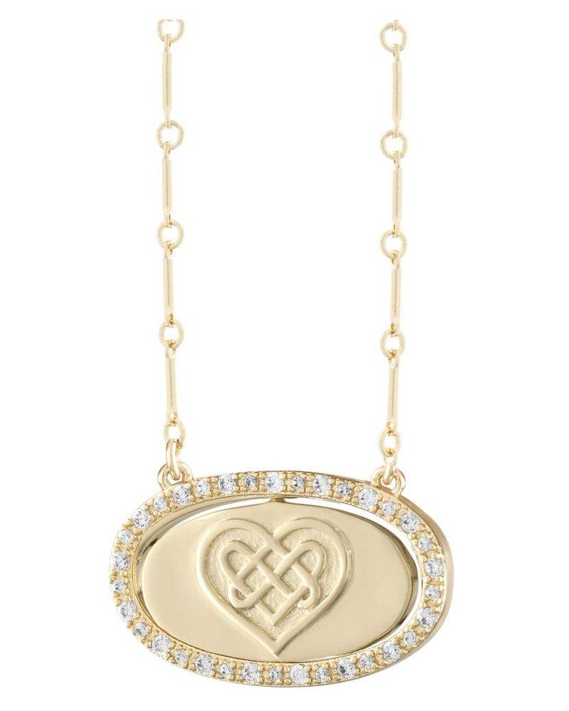 LULU DK Flip Love Laughter Necklace