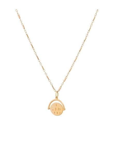 LULU DK Love Letters Petite Necklace