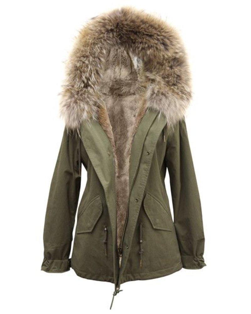 Palmer Private Label Fox Fur Parka