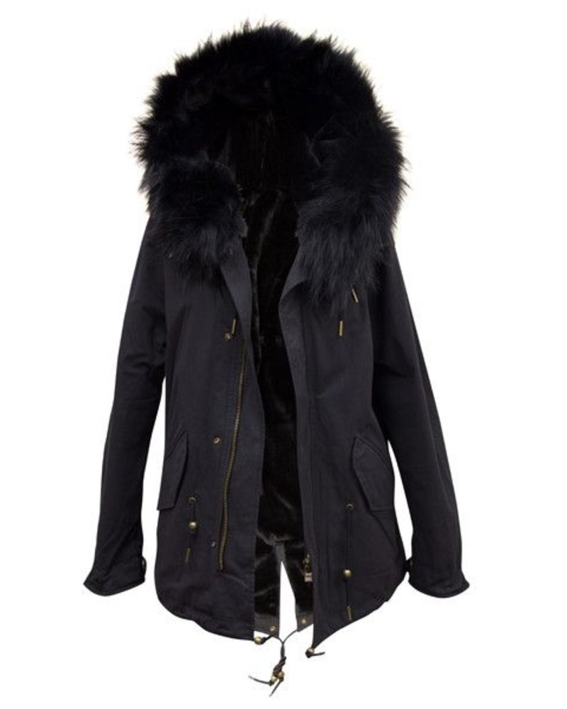 Palmer Private Label Fox Fur Parka