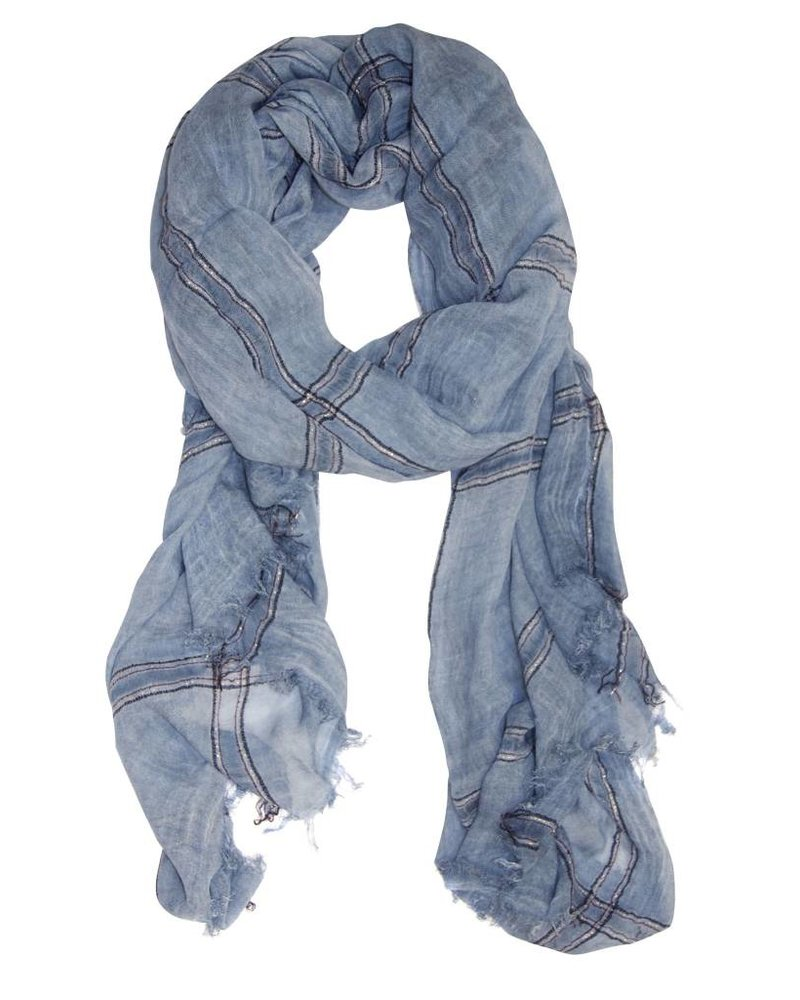 Palmer Private Label Lurex Ellen Scarf