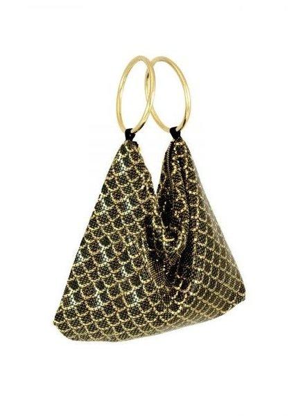 WHITING & DAVIS Scales Bracelet Bag