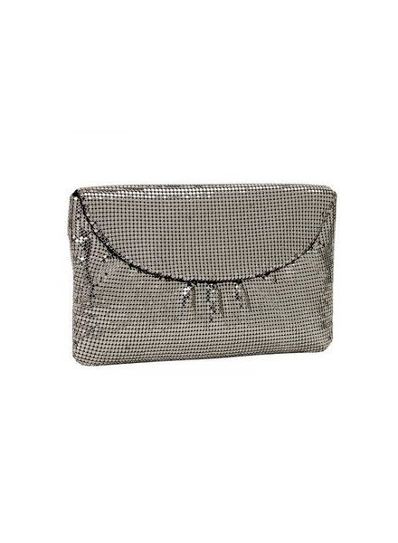 WHITING & DAVIS Curved Flap Clutch