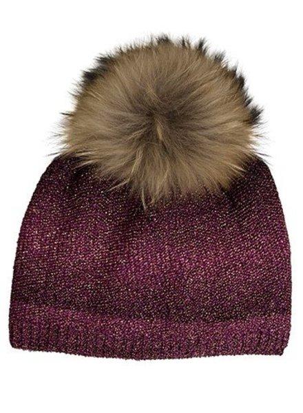 Galaxy Pom Pom Hat
