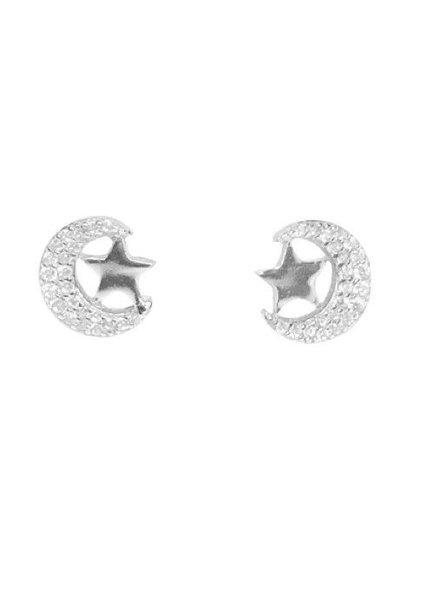 Palmer Jewelry Stars & Moon Earrings