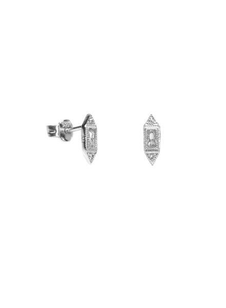 Palmer Jewelry Art Deco Studs