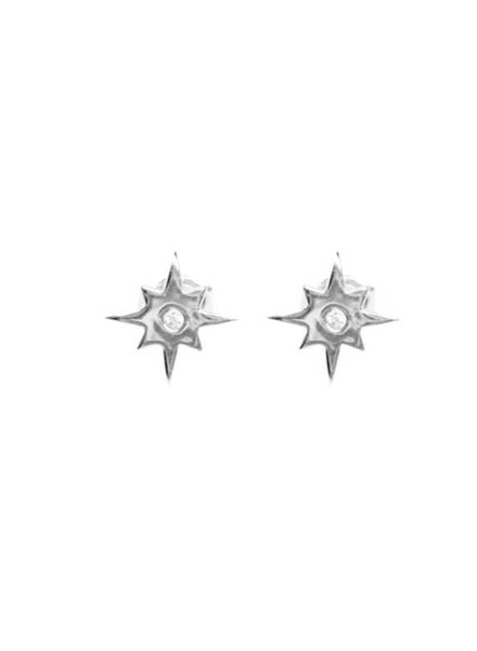 Palmer Jewelry Star Burst Earring