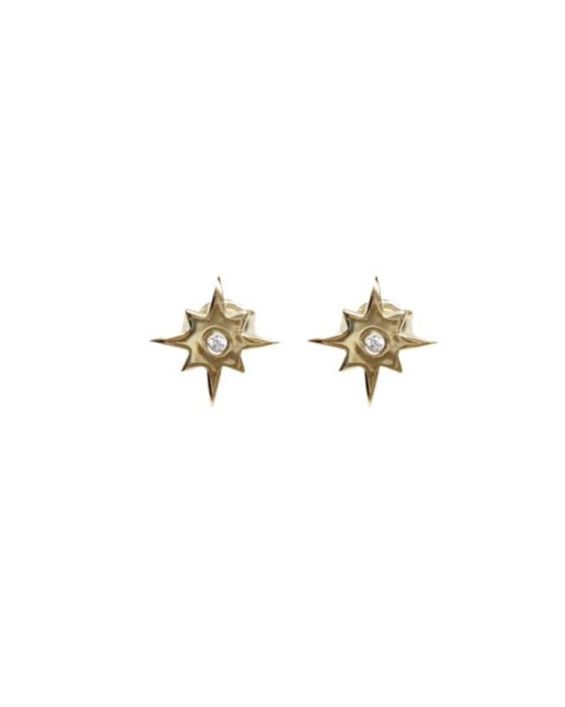 Palmer Jewelry Star Burst Earring