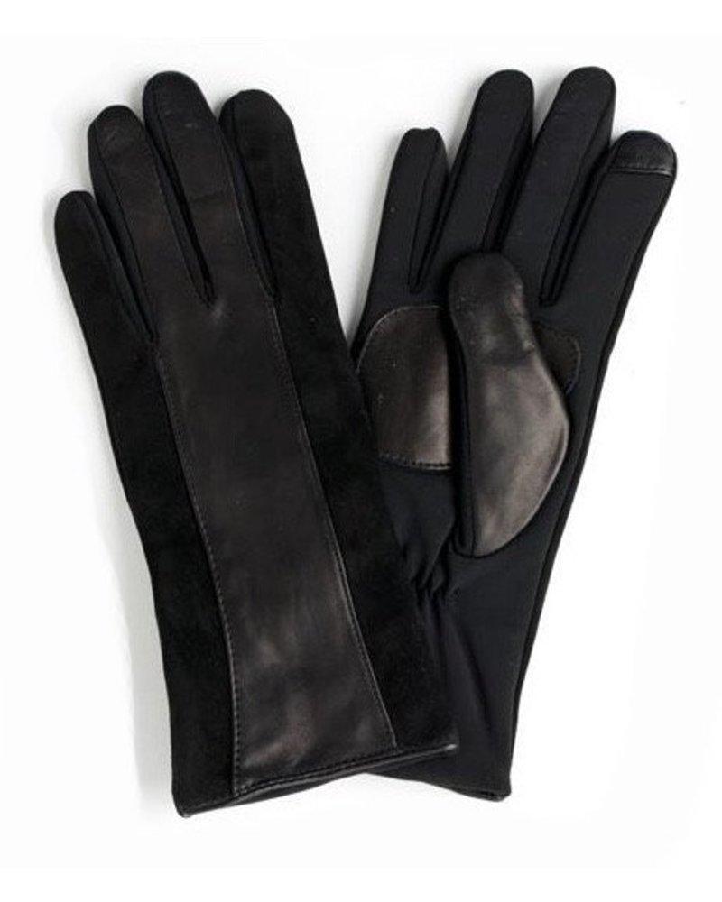 ECHO Leather Stripefit Glove