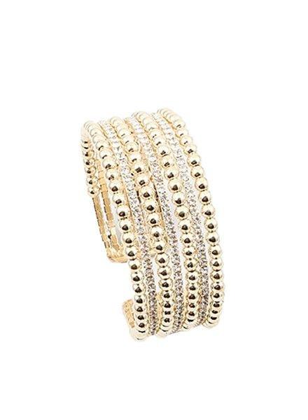 Palmer Jewelry Dazzle Gold Bracelet