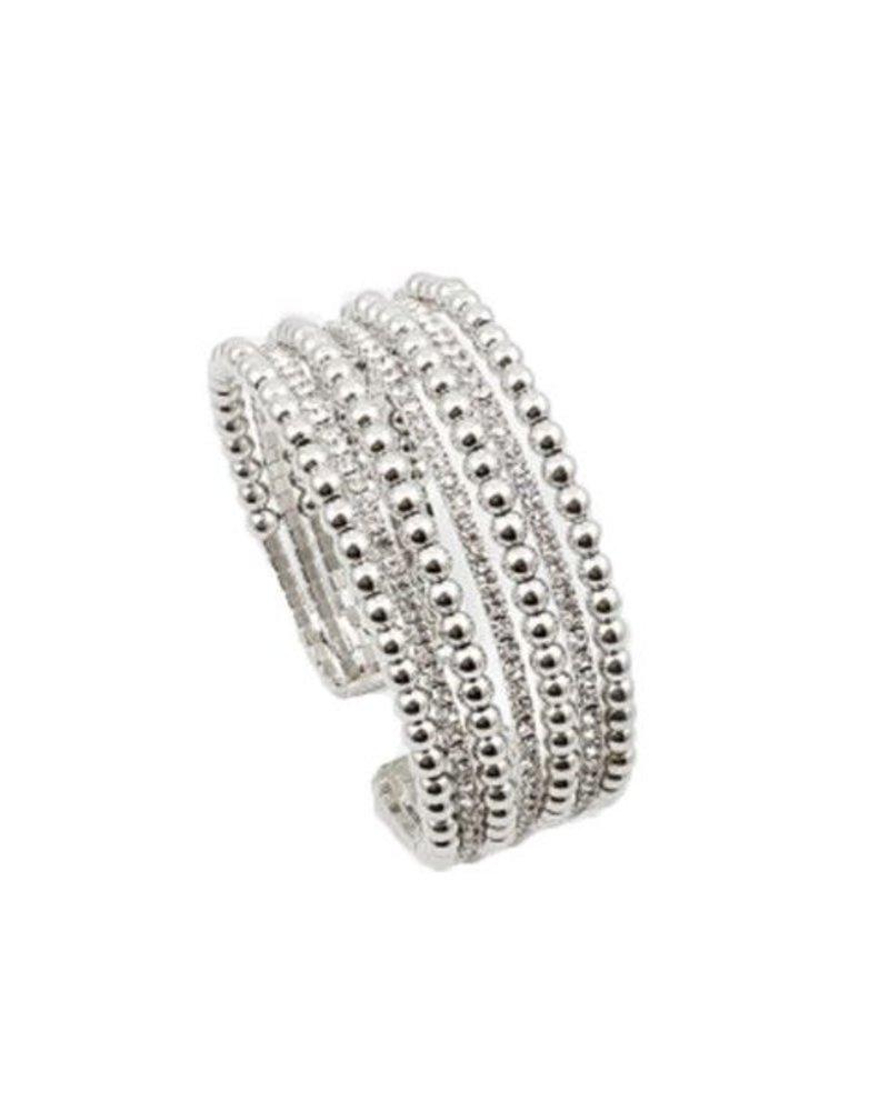 Palmer Jewelry Dazzle Silver Bracelet