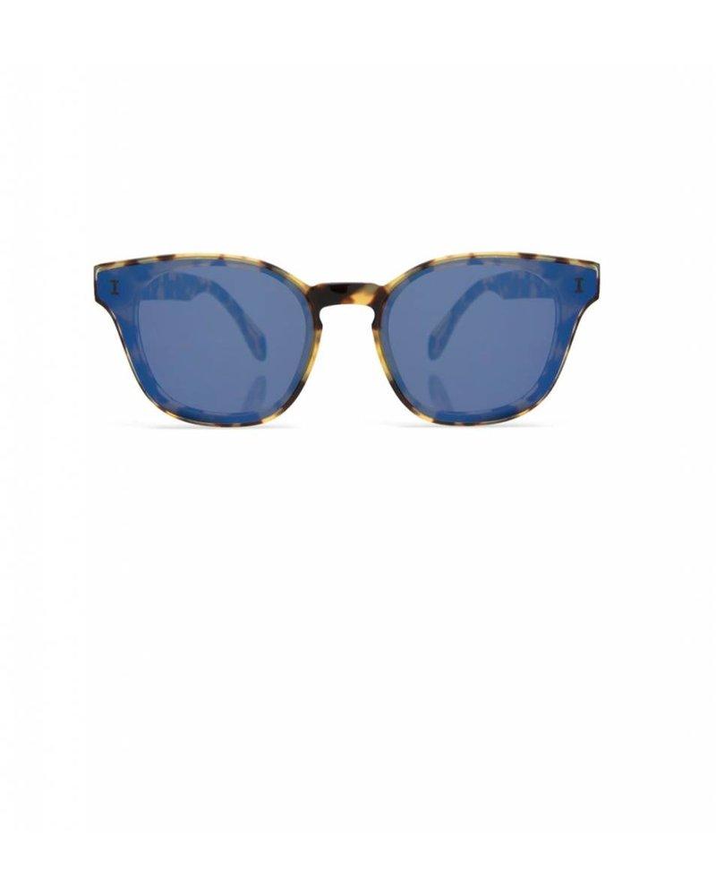 Illesteva Martinique Tortoise w/Blue Mirror