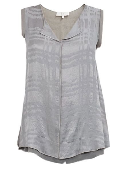 Lola & Sophie Sleeveless Abrasion Top