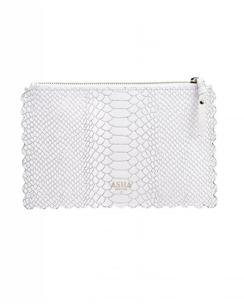 Asha by ADM Scalloped Pouch