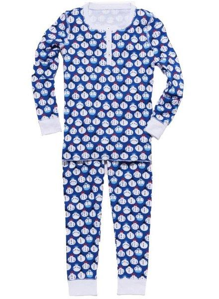 ROBERTA ROLLER RABBIT Kids Sno Global Pajama Set