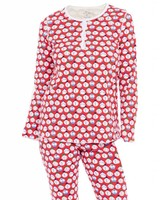 ROBERTA ROLLER RABBIT Women's Jersey Sno Global Pajama Set