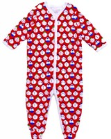 ROBERTA ROLLER RABBIT Infants Sno Global Snap Pajama Suit