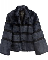 Fabulous Furs Navy Evening Jacket