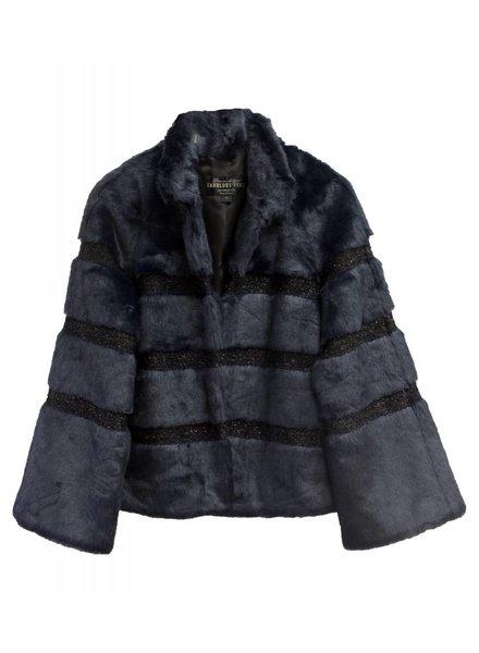 Fabulous Furs Navy Evening Jacket