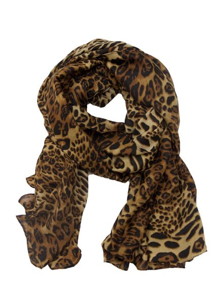 Palmer Private Label Leopard Print Scarf
