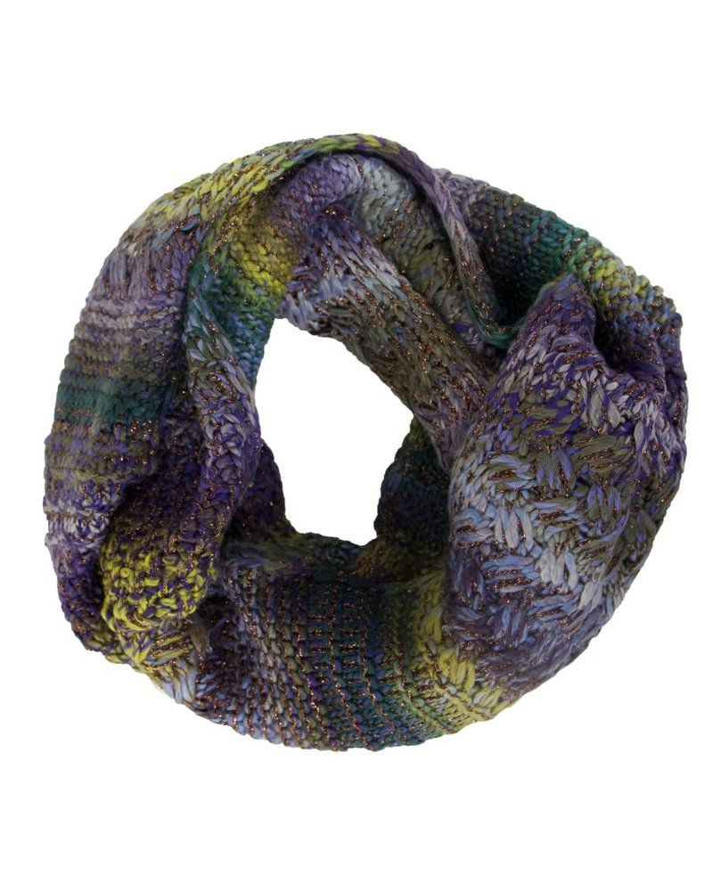 ECHO Rainbow Stitch Loop Scarf