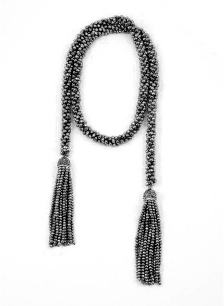Palmer Jewelry The Lindsey Necklace - Black