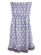 ROBERTA ROLLER RABBIT Dulce Strapless Dress