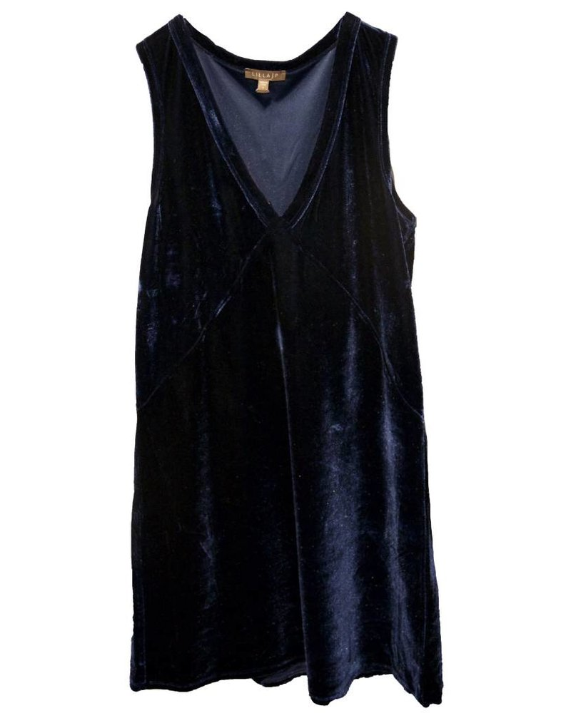 LILLA P Sleeveless V-Neck Dress