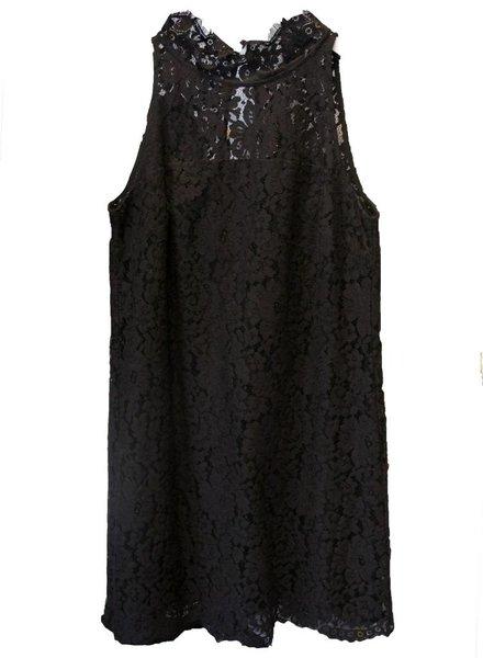 SAIL TO SABLE Keyhole Lace Sleeveless Dress