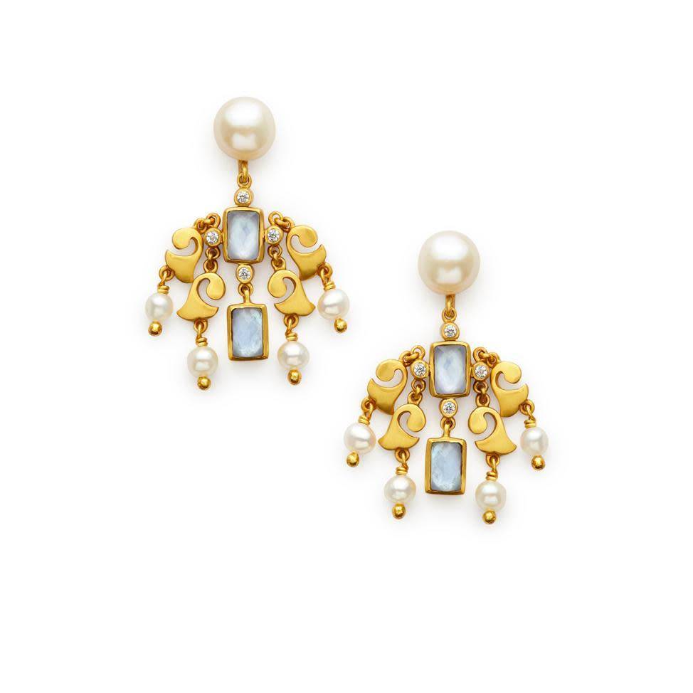 Julie vos clara chandelier earring clutch on palmer purchase julie vos clara chandelier earring arubaitofo Images