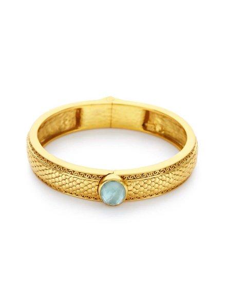Julie Vos Medici Single Stone Hinge Bracelet