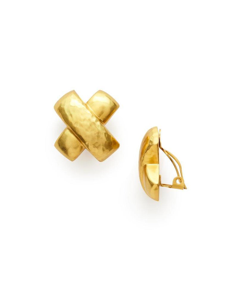 Julie Vos Catalina X Clip-On Earring