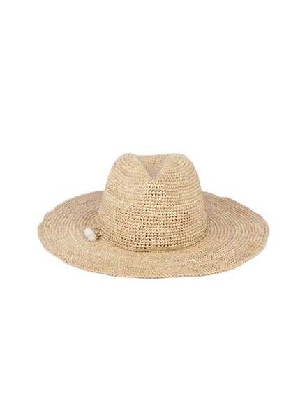 FLORA BELLA Lusa Crochet Cowboy Hat