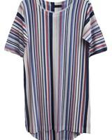 NALLY & MILLY Stripe Print Dress