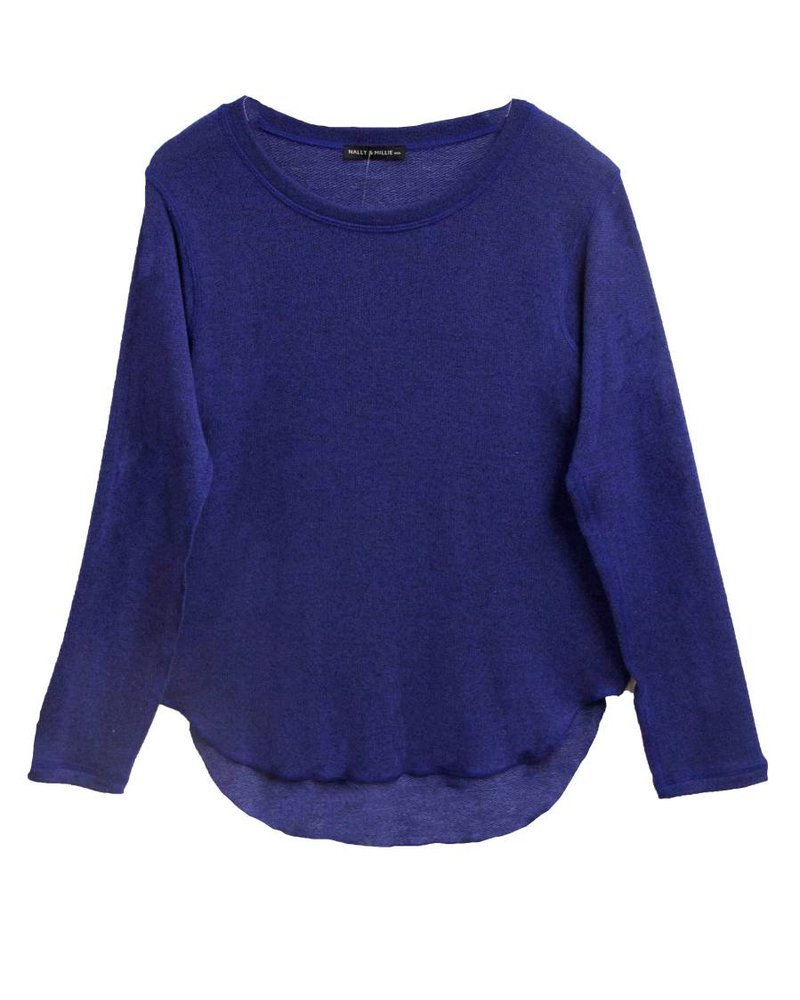 NALLY & MILLY L/S French Terry Top