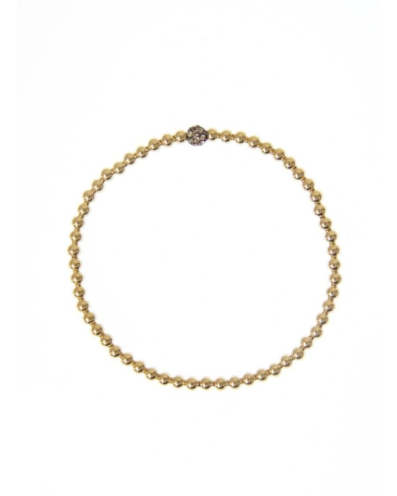3MM Gold Small Ox Ball