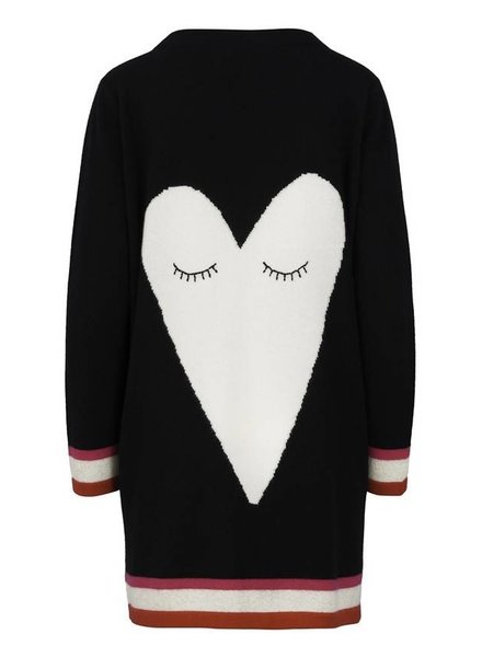 Iphoria Design Big Heart Cashmere Cardigan