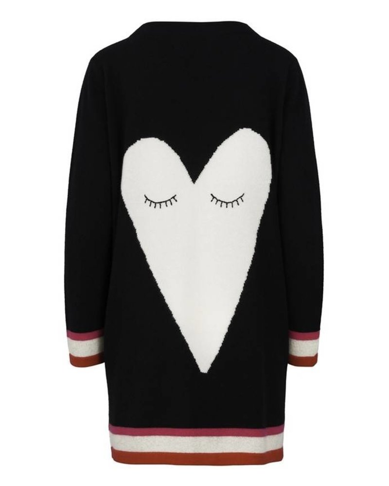 Iphoria Design Big Heart Cashmere Cardigan