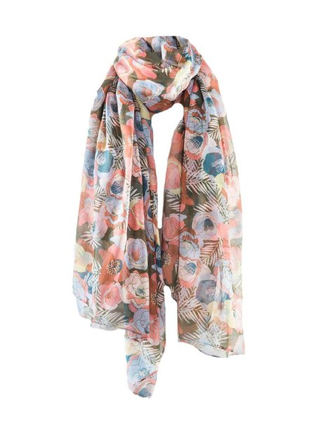 PRINTED VILLAGE Moody Jungle Scarf