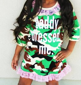 Daddy Dressed Me Kids Dress