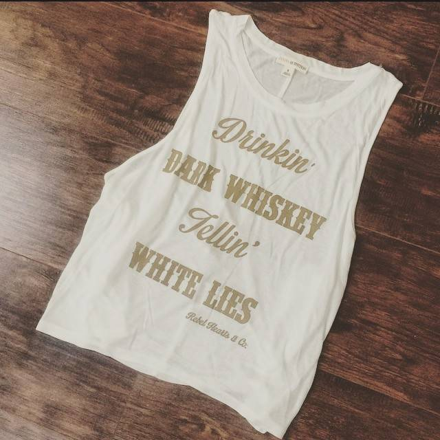 Drinkin' Dark Whiskey Muscle Tank