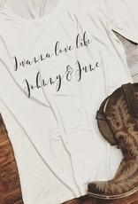 Johnny & June Tee