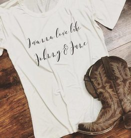 Johnny & June Tee