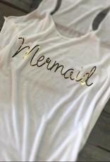 Mermaid racer back tank