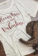 Moonshine Is My Valentine tee