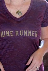 Shine Runner Burn Out Tee