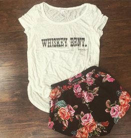 Whiskey Bent Slouch Tee