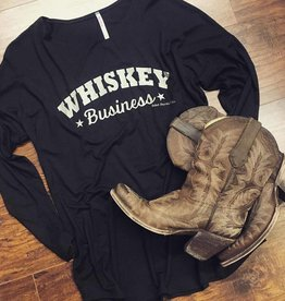 Whiskey Business Long Sleeve Dolman