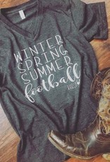 Winter, Spring, Summer, Football tee