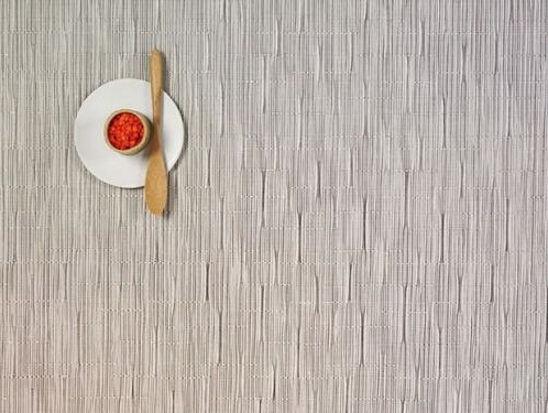 Chilewich Chilewich Bamboo Rectangle Placemat in Chalk